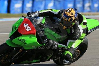 World © Octane Photographic Ltd. Pirelli National Superstock 1000 Championship Test day – Donington Park, 14th March 2013. Filip Backlund. Digital Ref : 0589lw1d4872