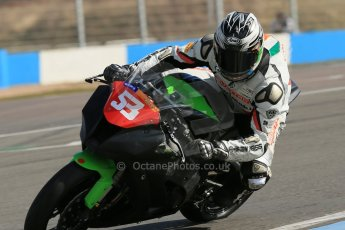 World © Octane Photographic Ltd. Pirelli National Superstock 1000 Championship Test day – Donington Park, 14th March 2013. Joe Burns. Digital Ref : 0589lw1d4906