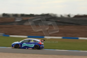 World © Octane Photographic Ltd. Thursday 21st March 2013. Dunlop MSA British Touring Car Championship  (BTCC) Media Day – Donington Park. Aron Smith – Airwaves Racing – Ford Focus ST. Digital Ref : 0603lw1d3322