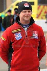 World © Octane Photographic Ltd. Thursday 21st March 2013. Dunlop MSA British Touring Car Championship  (BTCC) Media Day – Donington Park. Warren Scott – BMR Restart – SEAT Leon. Digital Ref : 0602cj7d2826