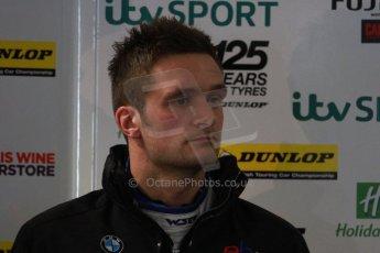 World © Octane Photographic Ltd. Thursday 21st March 2013. Dunlop MSA British Touring Car Championship  (BTCC) Media Day – Donington Park. Colin Turkington – eBay Motors – BMW 1 Series. Digital Ref : 0601cj7d0514