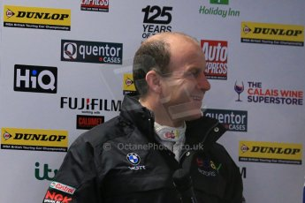 World © Octane Photographic Ltd. Thursday 21st March 2013. Dunlop MSA British Touring Car Championship  (BTCC) Media Day – Donington Park. Rob Collard – eBay Motors - BMW 1 Series. Digital Ref : 0601lw1d7684