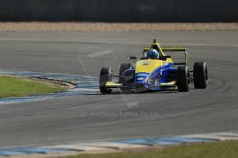 World © Octane Photographic Ltd. Formula Ford, Donington Park practice Thursday 18th April 2013. Falcon Motorsport – Mygale M13-SJ/Scholar – Harrison Scott. Digital Ref :