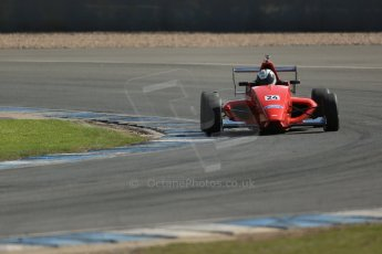 World © Octane Photographic Ltd. Formula Ford, Donington Park practice Thursday 18th April 2013. Jamun Racing – Mygale M12SJ/Scholar – Luke Williams. Digital Ref :