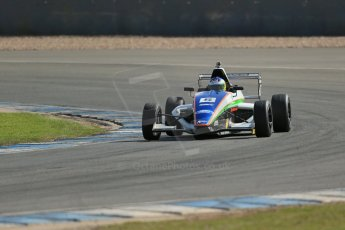 World © Octane Photographic Ltd. Formula Ford, Donington Park practice Thursday 18th April 2013. Richardson Racing – Mygale M12-SJ/Scholar  – Andy Richardson. Digital Ref :