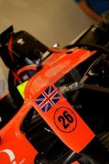 World © Octane Photographic Ltd. GP2 British GP, Silverstone, Thursday 27th June 2013. Adrian Quaife-Hobbs -  MP Motorsport. Digital Ref : 0723ce1d6062