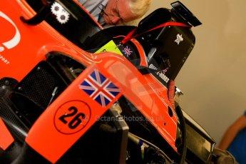 World © Octane Photographic Ltd. GP2 British GP, Silverstone, Thursday 27th June 2013. Adrian Quaife-Hobbs -  MP Motorsport. Digital Ref : 0723ce1d6065