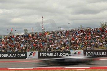 World © Octane Photographic Ltd. F1 USA GP, Austin, Texas, Circuit of the Americas (COTA), Saturday 16th November 2013 - Qualifying. Williams FW35 - Valtteri Bottas. Digital Ref : 0858lw1d1994