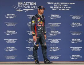 World © Octane Photographic Ltd. F1 USA GP, Austin, Texas, Circuit of the Americas (COTA), Saturday 16th November 2013 - Qualifying conference. Infiniti Red Bull Racing RB9 - Mark Webber. Digital Ref : 0858lw1d2206
