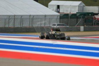 World © Octane Photographic Ltd. F1 USA GP, Austin, Texas, Circuit of the Americas (COTA), Saturday 16th November 2013 - Qualifying. Lotus F1 Team E21 – Heikki Kovalainen. Digital Ref : 0858lw1d5468