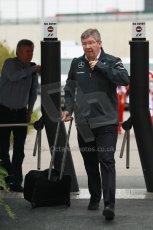 World © Octane Photographic Ltd. F1 USA GP, Austin, Texas, Circuit of the Americas (COTA), Sunday 17th November 2013 - Paddock. Mercedes AMG Petronas - Ross Brawn. Digital Ref : 0859lw1d2292