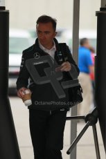 World © Octane Photographic Ltd. F1 USA GP, Austin, Texas, Circuit of the Americas (COTA), Sunday 17th November 2013 - Paddock. Mercedes AMG Petronas technical Director - Paddy Lowe. Digital Ref : 0859lw1d2300