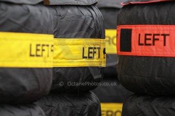 World © Octane Photographic Ltd. USA F1 Grand Prix, Austin, Texas, Circuit of the Americas (COTA). Paddock, Thursday 14th November 2013. Soft and Hard Pirelli tyre choices. Digital Ref : 0852lw1d1116