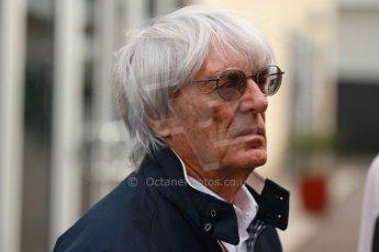 World © Octane Photographic Ltd. USA F1 Grand Prix, Austin, Texas, Circuit of the Americas (COTA). Paddock, Thursday 14th November 2013. Bernie Ecclestone. Digital Ref : 0852lw1d1127