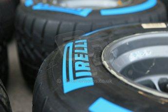 World © Octane Photographic Ltd. USA F1 Grand Prix, Austin, Texas, Circuit of the Americas (COTA). Paddock, Thursday 14th November 2013. Pirelli Full Wet tyre choice. Digital Ref : 0852lw1d2668