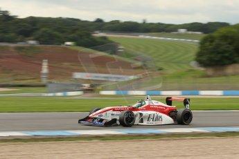 World © Octane Photographic Ltd. Donington Park General Test, Matt Bell, Douglas Motorsport, BRDC Formula 4, MSV F4-13. Thursday 19th September 2013. Digital Ref : 0829lw1d47908
