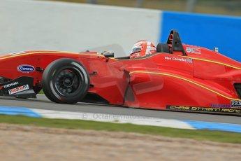 World © Octane Photographic Ltd. Donington Park General Test, Max Cornelius - Chris Dittmann Racing - BRDC Formula 4 - MSV F4-13. Thursday 19th September 2013. Digital Ref : 0829lw1d7849