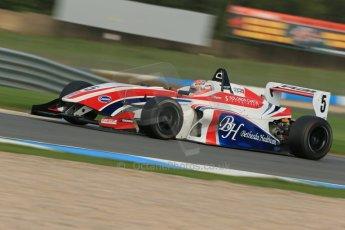 World © Octane Photographic Ltd. Donington Park test day 26th September 2013. BRDC Formula 4, MSV F4-13, HHC Motorsport, Raoul Hyman. Digital Ref : 0830lw1d8160