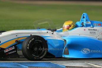 World © Octane Photographic Ltd. Donington Park test day 26th September 2013. MSV F3 Cup. Lanan Racing, Dallara F307 Volkswagen. Digital Ref : 0830lw1d8316
