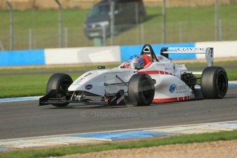 World © Octane Photographic Ltd. Donington Park test day 26th September 2013. BRDC Formula 4, MSV F4-13, Douglas Motorsport, Malgosia Rdest. Digital Ref : 0830lw1d8417
