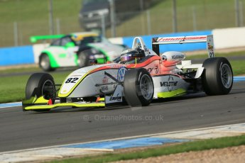 World © Octane Photographic Ltd. Donington Park test day 26th September 2013. MSV F3 Cup. Lanan Racing, Dallara F307 Volkswagen. Digital Ref : 0830lw1d8443