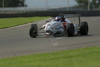 World © Octane Photographic Ltd. Donington Park test day 26th September 2013. BRDC Formula 4, MSV F4-13, Lanan Racing, Jake Dalton. Digital Ref : 0830lw1d9046