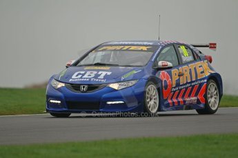World © Octane Photographic Ltd. Donington Park General Unsilenced Test, Thursday 28th November 2013. British Touring Car Championship (BTCC) - Martin Depper – Pirtek Pacing – Honda Civic NGTC. Digital Ref : 0870cb1d8213