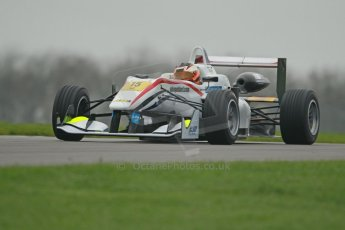 World © Octane Photographic Ltd. Donington Park General Unsilenced Test, Thursday 28th November 2013. FIA Formula 3 (F3) European Championship – Spike Goddard – T-Sport – Dallara F312 ThreeBond Nissan. Digital Ref : 0870cb1d8242