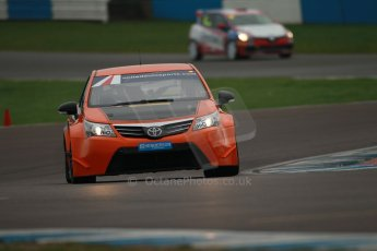 World © Octane Photographic Ltd. Donington Park General Unsilenced Test, Thursday 28th November 2013. United Autosports – British Touring Car Championship (BTCC) – Toyota Avensis NGTC. Digital Ref : 0870cb1d8333