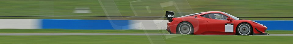 World © Octane Photographic Ltd. Donington Park General Unsilenced Test, Thursday 28th November 2013. Ferrari 458 BAMD - McGuinness/Nelson. Digital Ref : 0870cb1dx8466