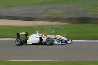 World © Octane Photographic Ltd. Donington Park General Unsilenced Test, Thursday 28th November 2013. FIA Formula 3 (F3) European Championship – Spike Goddard – T-Sport – Dallara F312 ThreeBond Nissan. Digital Ref : 0870cb1dx8527