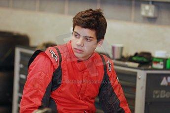 World © Octane Photographic Ltd. Donington Park General Unsilenced Testing 5th December 2013. BRDC Formula 4 (F4) Championship. MSV F4-013, MGR Motorsport, Hernan Fallas.Digital ref : 0873cb1d8620