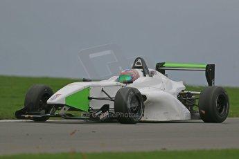 World © Octane Photographic Ltd. Donington Park General Unsilenced Testing 5th December 2013. BRDC Formula 4 (F4) Championship. MSV F4-013, MGR Motorsport, Hernan Fallas. Digital ref : 0873cb1dx8673