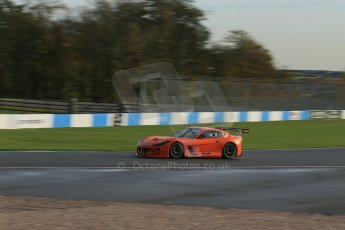 World © Octane Photographic Ltd. Donington Park general testing, Thursday 7th November 2013. Ginetta G55. Digital Ref : 0850lw1d2117