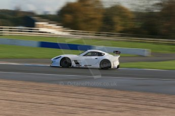 World © Octane Photographic Ltd. Donington Park general testing, Thursday 7th November 2013. Ginetta G55. Digital Ref : 0850lw1d2132