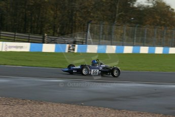 World © Octane Photographic Ltd. Donington Park general testing, Thursday 7th November 2013. Historic Formula Ford 1600 Elden, Derek/James Buckden. Digital Ref : 0850lw1d2150