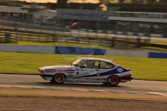 World © Octane Photographic Ltd. Donington Park general testing, Thursday 7th November 2013, Ford Capri - Paul Pochciol. Digital Ref : 0850lw1d2296