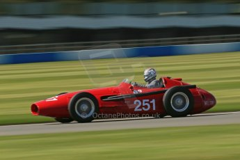 World © Octane Photographic Ltd. Donington Park General Un-silenced Testing, Thursday May 15th 2013. Hall and Hall Maserati 250F. Digital Ref : 0676cb1d3137