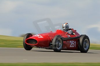 World © Octane Photographic Ltd. Donington Park General Un-silenced Testing, Thursday May 15th 2013. Hall and Hall Maserati 250F. Digital Ref : 0676cb7d9556