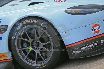 World © Octane Photographic Ltd. Donington Park General un-silenced test 25th April 2013. Aston Martin Vantage PRO GTE, Darren Turner. Digital Ref : 0641cb1d6148