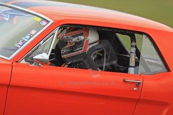 World © Octane Photographic Ltd. Donington Park General un-silenced test 25th April 2013. Ben Beighton - Ford Mustang - Team Tiger, Road Motorsport. Digital Ref : 0641cb7d6507