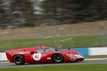 World © Octane Photographic Ltd/Chris Enion. Donington Park General un-silenced test 25th April 2013. Martin Stretton - Lola T70. Digital Ref : 0641ce1d2742