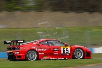 World © Octane Photographic Ltd/Chris Enion. Donington Park General un-silenced test 25th April 2013. Pirelli Ferrari Open, Winder. Digital Ref : 0641ce1d2748