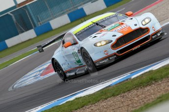 World © Octane Photographic Ltd/Chris Enion. Donington Park General un-silenced test 25th April 2013. Aston Martin Vantage PRO GTE, Darren Turner. Digital Ref : 0641ce1d3258