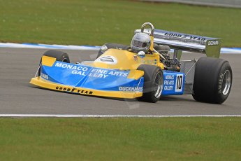 World © Octane Photographic Ltd. Donington Park General un-silenced testing, April 30th 2013. Ex-Ronnie Peterson March 761, Historic F1. Digital Ref : 0643cb7d7903