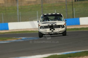 World © Octane Photographic Ltd. Donington Park General un-silenced testing, April 30th 2013. BMW 1800Ti Peter James/Paul Taft. Digital Ref : 0643lw1d6410