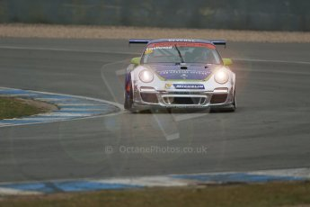 World © Octane Photographic Ltd. General unsilenced testing – Donington Park Thursday 11th April 2013. Pete Smallwood - Porsche GT3 Cup. Digital ref : 0630lw1d2321