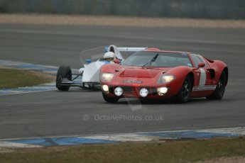 World © Octane Photographic Ltd. General unsilenced testing – Donington Park Thursday 11th April 2013. Ford Gt40 Mk.I. and Protyre Formula Renault Championship. Jorge – Cevallos. MGR Motorsport. Digital ref : 0630lw1d2340