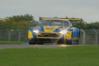 World © Octane Photographic Ltd. Donington Park unsilenced testing, 10th October 2013. Aston Martin Racing, Aston Martin Vantage GT3, British GT Championship. Digital Ref :