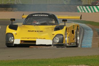 World © Octane Photographic Ltd. Donington Park unsilenced testing, 10th October 2013. Spice SE88 - Group C Racing. Digital Ref :